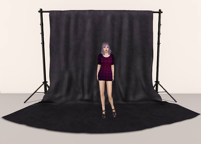 PM Draped Photography Background