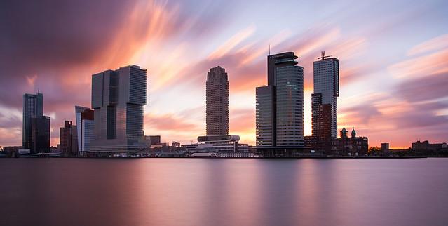 Rotterdam this morning