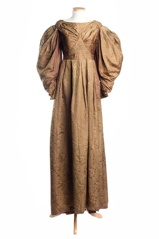 Damask dress, c. 1830