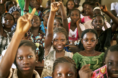 Students at Public School in Taliko Neighbourhood, Bamako | by United Nations Photo