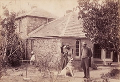 McGowan family at St Anne's Lodge, c. 1880.