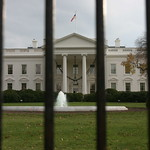 White House behind bars