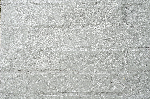Texture - painted silver brick wall | by Andrew Beeston