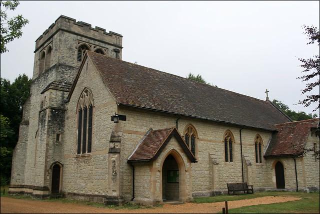 Exbury church