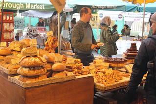 Borough Market, bread seller | by EEPaul
