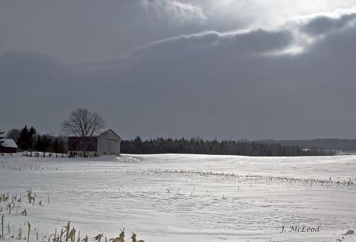 sun snow barn shadows farm clearview6thline