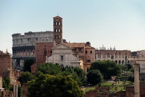 Foro - Santa Francesca - Colosseo