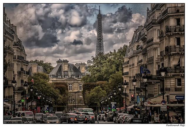 Paris_Rue Soufflot_Palais du Luxembourg_5 er  Arr.