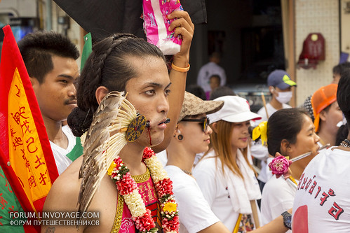 Street procession at Phuket Vegetarian Festival. October, 2016. Phuket, Thailand | by Andaman4fun