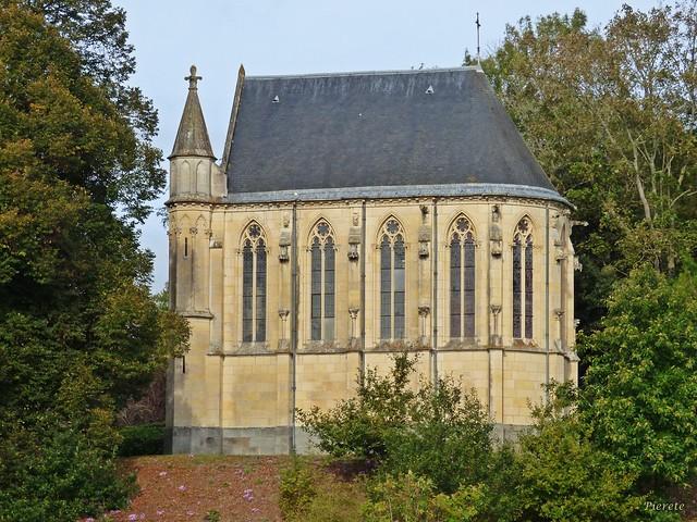 Chapelle, château de l'Argentaye...Saint-Lormel