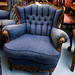 Late 1930s reproduction carved armchair