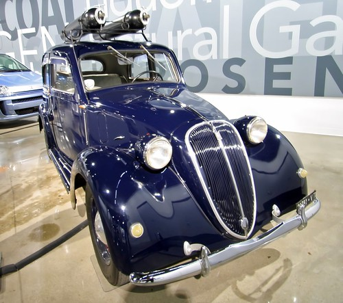 1939 Fiat 508C Balilla converted for CNG - Petersen Museum (7768) | by Ron of the Desert