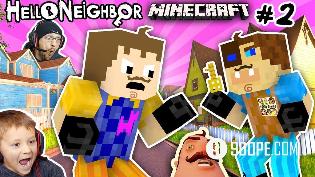 MINECRAFT HELLO NEIGHBOR & HIS BROTHER FIGHT 4 Basement Ke… | Flickr