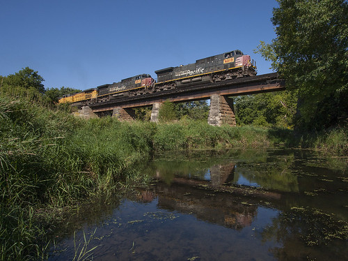 UP's Straight River Bridge; Faribault, MN | by Ottergoose