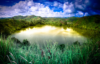 Crater lake   by MastaBaba
