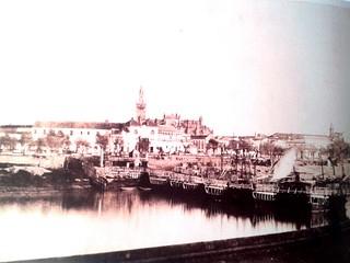 triana al dia, triana, historia triana, puente triana, puente de barcas | by Nervión al día