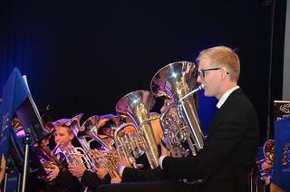 Brassbandfestivalen 2013 - Eufonium och Bariton, Åsenhöga Missionskyrkas Brass Band (Foto: Annette Forsberg)