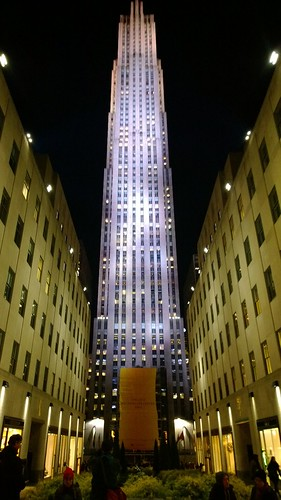 Rockefeller Center (GE Building) at night, Manhattan | by Sebastian Anthony