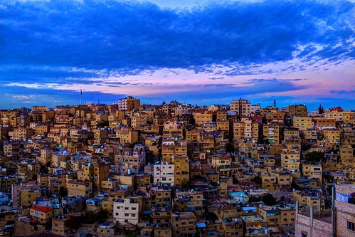houses homes sunset sky colors architecture night landscape flickr skies cityscape fuji cloudy amman middleeast bluesky jordan colored fujifilm blueskies hdr 2014 arabworld عمان 2013 الاردن flickriver january2014 الشرقالاولسط