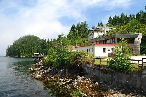 Bamfield Marine Sciences Center, Bamfield, Vancouver Island, British Columbia