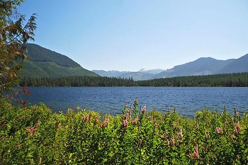 Hoomak Lake near Woss, North Vancouver Island, British Columbia, Canada