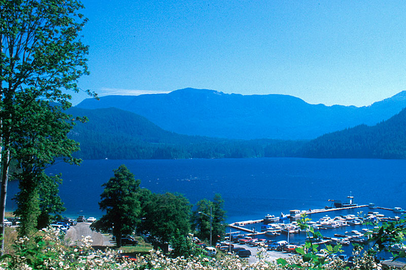 Powel Lake, Powell River, Malaspina Peninsula, Sunshine Coast, British Columbia, Canada