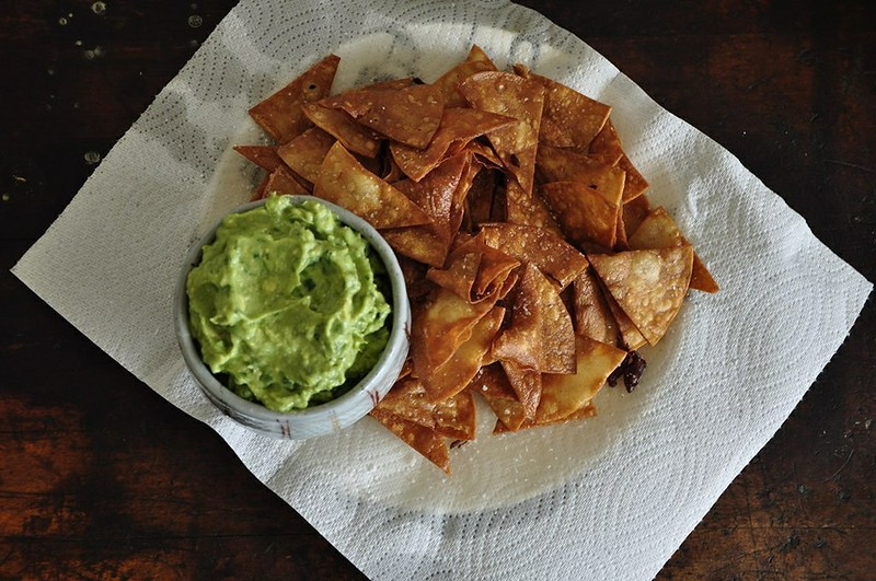 Classic Guacamole Chips