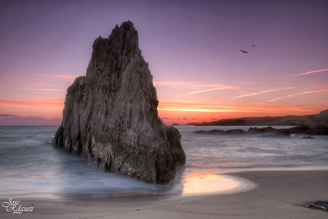 Un bonito lugar de la costa Asturiana