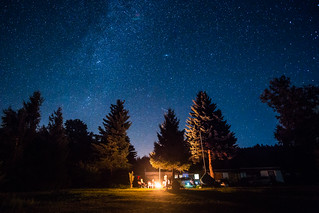Stars above the camp | by Steffen Walther