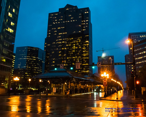 Bellevue Transit Center in the Blue Hour...