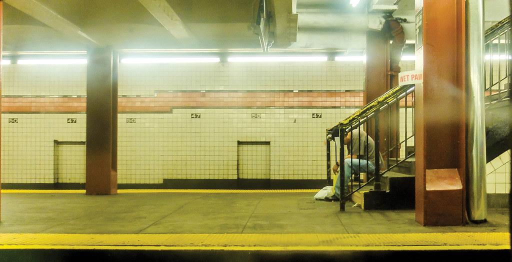 "DDD030 | ""2 A.M. In The Subway..."" (CC BY 2.0) by Wwward. Do… | Flickr"
