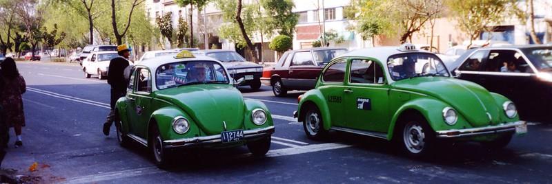 Mexico taxis coccinelles