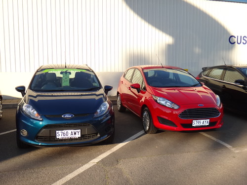 2013 Ford Fiesta LX and Fiesta Ambiente Photo