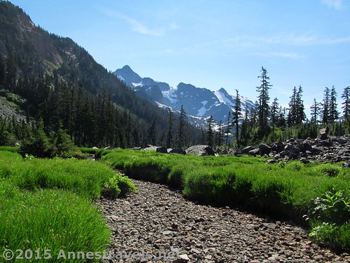 Mt. Shuksan from the Lake Ann Trail, Mount Baker-Snoqualmie National Forest, Washington