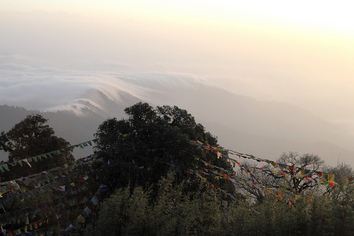 morning cloud india mountain montagne himalaya nuage darjeeling inde matin kangchenjunga