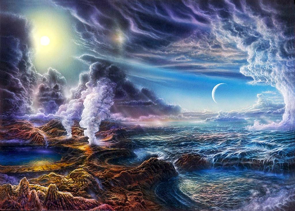 06 Formació de la Atmosfera Primitiva | An illustration of w… | Flickr