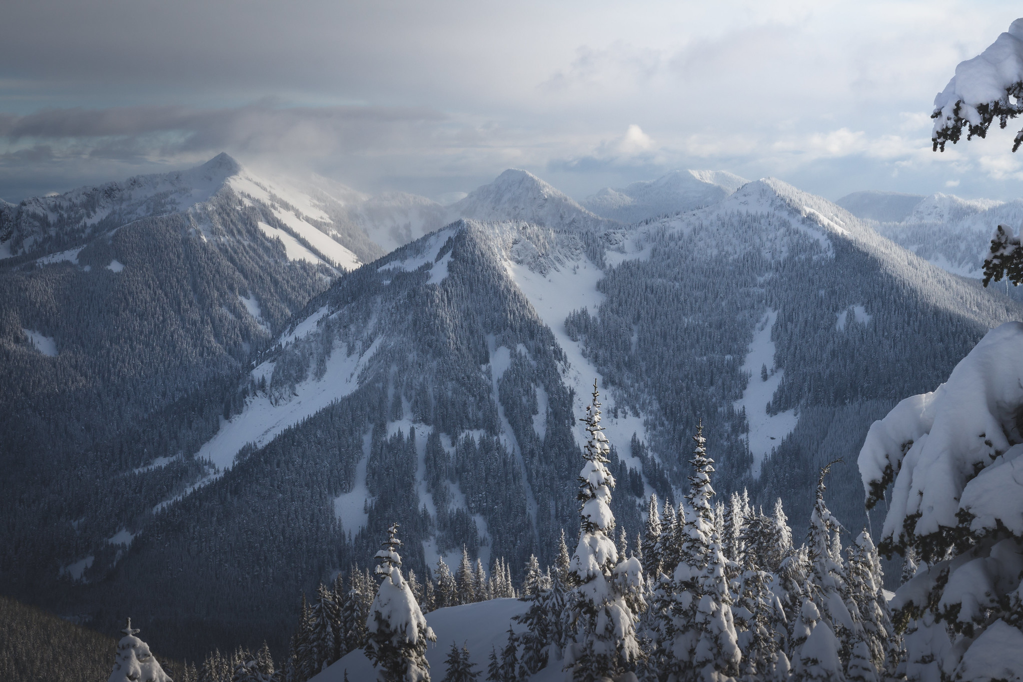 Silver Peak, Abiel Peak, Humpback Mountain