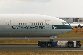 B-KPO 777-367 CX 288 FRA-HKG   by Giancarlo Scolari