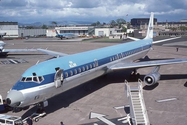 PH-DEH Glasgow 12-5-1976