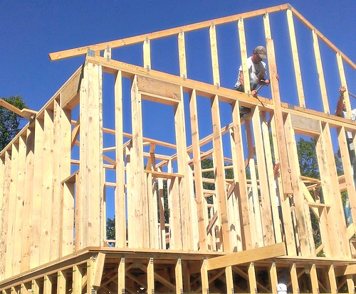 framing a house | by HomeSpot HQ