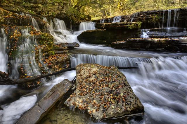 Sink Creek Falls 1, Sink Creek, Dekalb Co, TN
