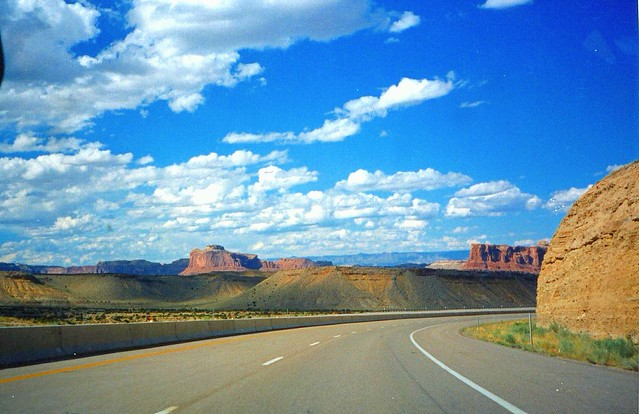 Canyonlands UT ~ I-70 ~ Moab Ut ~  Dinosaur Prehistoric Hwy