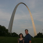 Two under the arch