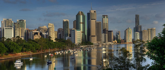 Brisbane 2014 panorama