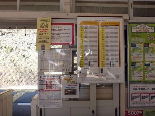 Tsudo Station, Watarase Keikoku Railway | by Kzaral