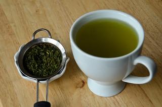 Extra Green Sencha, 2nd Cup | by osiristhe