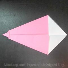 สอนวิธีการพับกระดาษเป็นรูปเป็ด (Origami Duck) - 014.jpg