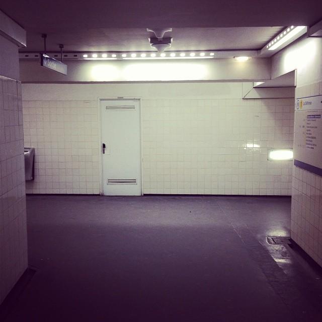 Heaven or Hell #iphone #door #subway