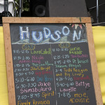 Sat, 21/06/2014 - 1:17pm - Schedule for the Hudson Stage. Photo by Laura Fedele  A beautiful day in Croton Point Park. Photo by Laura Fedele