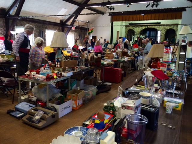 Tag Sale at the Stone House, Stamford CT   North Stamford
